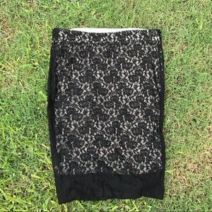 Torrid Skirt -  Black Lace NWT